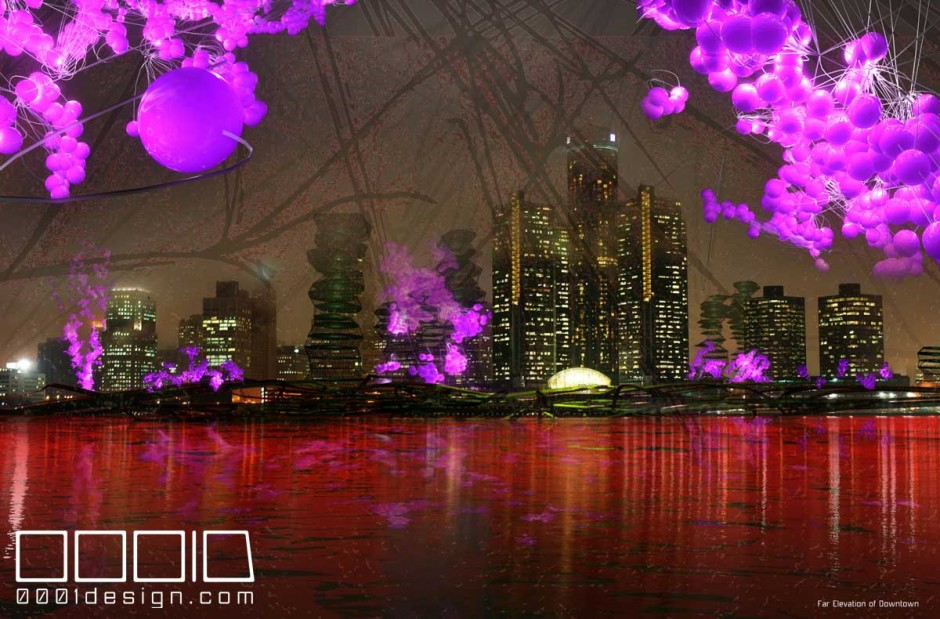 """Rouse D """"Lake Effects"""" Project by 0001d LLC and Kieran McCaughey."""